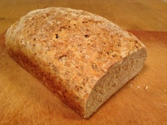Whole Wheat English Country Bread